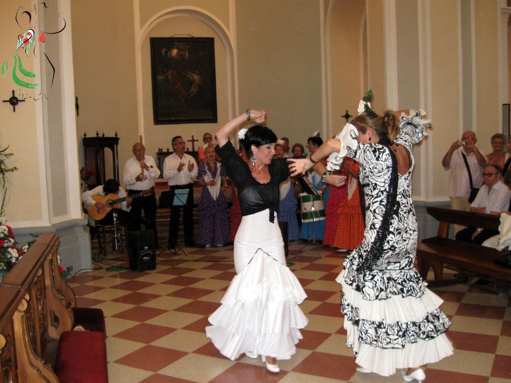 Bailes en la Hermita de Salas