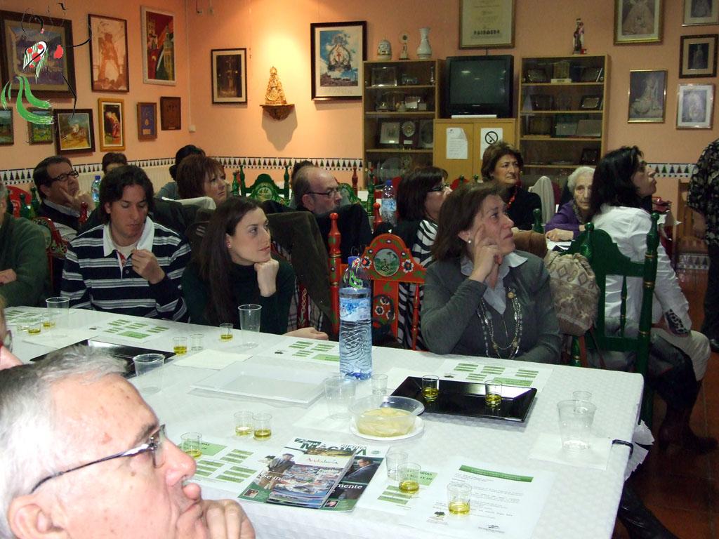 Cata de aceite en la Casa Andalucía Huesca