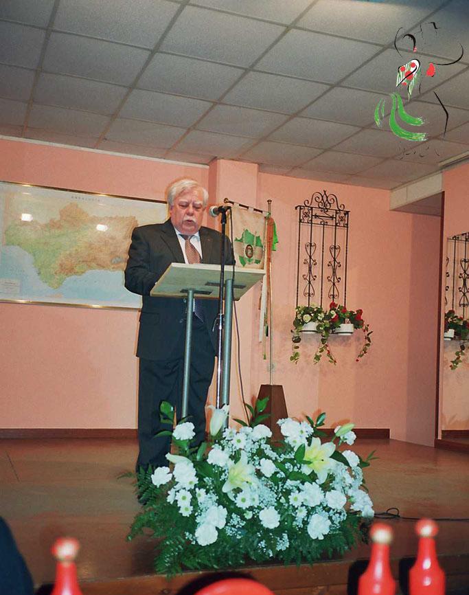 Juan Carrero en los días de andalucía de Huesca