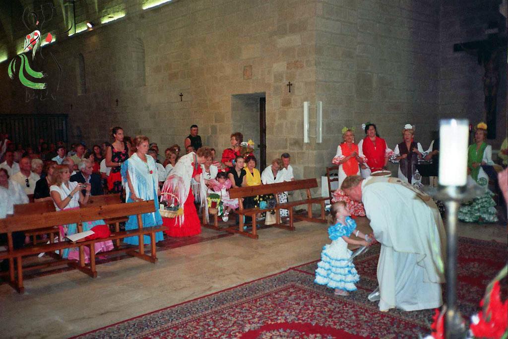 Misa en el día del Carmen Huesca