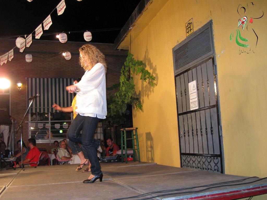 Susana Raya en la Casa de Andalucía en Huesca