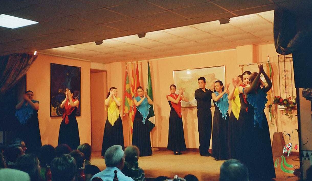 Grupo azabache en la casa de andalucia